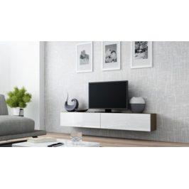 Cama Televizní stolek VIGO 180 - latte/bila