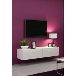 Cama Televizní stolek VIGO 140 - bílá