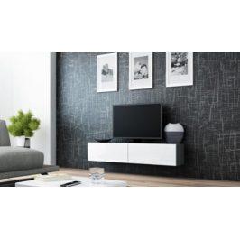 Cama Televizní stolek VIGO 140 - šedá/bílá
