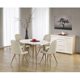 Halmar Jídelní stůl Edward, dub medový