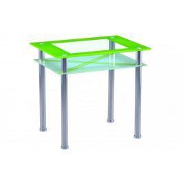 Falco Jídelní stůl B 66 - zelený Jídelní stoly