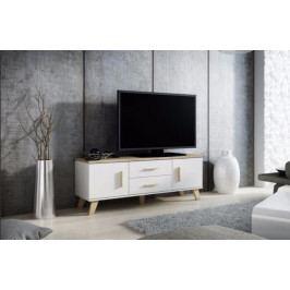 Cama Televizní stolek LOTTA RTV 140 (2D2S)