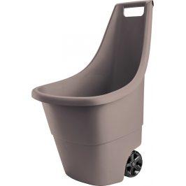 Rojaplast Plastový vozík EASY GO 50L - hnědý