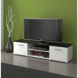 Tempo Kondela TV stolek ZUNO 01 - černá/bílá