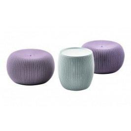 Rojaplast Set URBAN KNIT (COZIES) - fialový+šedý