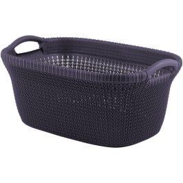 Curver Koš na čisté prádlo KNIT 40L - fialový