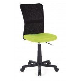 Sconto Kancelářská židle BAMBI zelená/černá