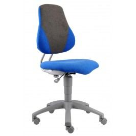 Sconto Kancelářská židle ELEN modrá/šedá
