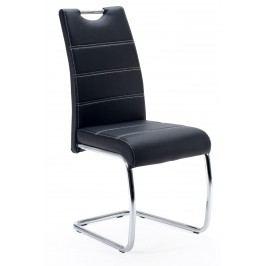 Sconto Jídelní židle FLORA S černá