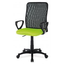 Sconto Kancelářská židle FRESH zelená/černá Kancelářská křesla