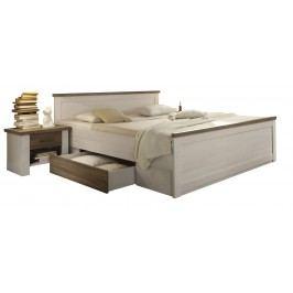Postel + noční stolky LUCA