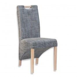 Sconto Jídelní židle BIANCA šedá