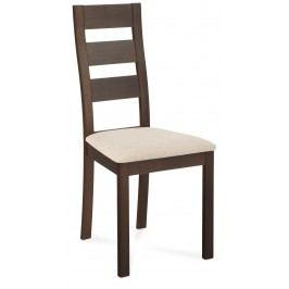 Sconto Jídelní židle DIANA ořech/krémová