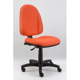 Sconto Kancelářská židle DONA oranžová Kancelářská křesla