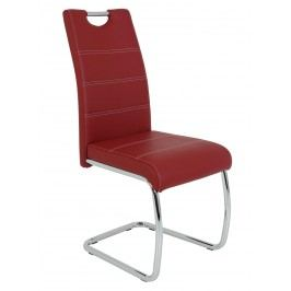 Sconto Jídelní židle FLORA S bordó