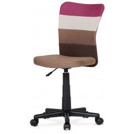 Sconto Otočná stolička IRWIN mix barev fialová