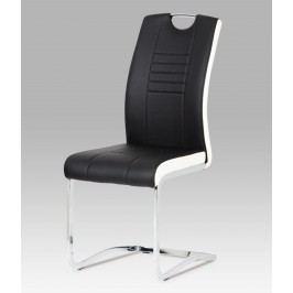 Sconto Jídelní židle ASHLEY černobílá