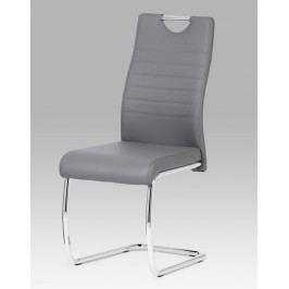 Sconto Jídelní židle BONNIE CAP šedá