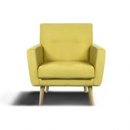 Sconto Křeslo KAIRO žlutá