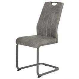 Sconto Jídelní židle CHRISTINA II šedá