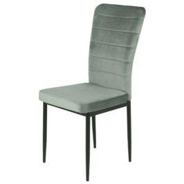 Sconto Jídelní židle DORO S šedá