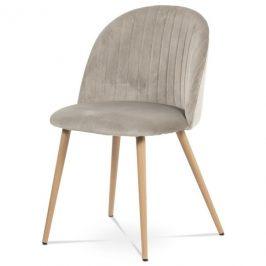 Sconto Jídelní židle KAISA dub/béžová