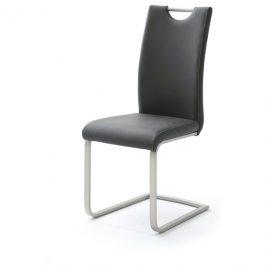 Sconto Jídelní židle PIPER černá