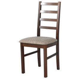 Sconto Jídelní židle NILA 8 hnědá