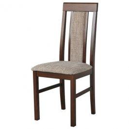 Sconto Jídelní židle NILA 2 hnědá