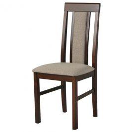 Sconto Jídelní židle NILA 2 světle hnědá/hnědá