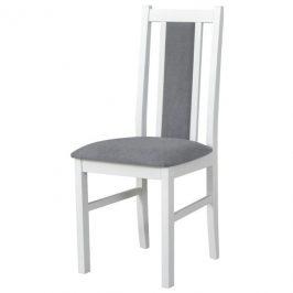 Sconto Jídelní židle BOLS 14 šedá/bílá