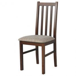 Sconto Jídelní židle BOLS 10 hnědá