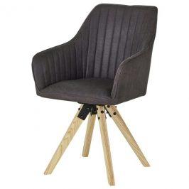 Sconto Jídelní židle BENITO šedá