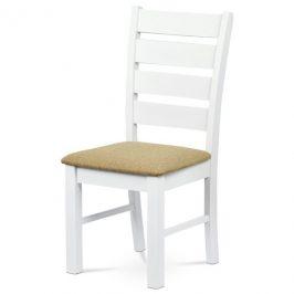 Sconto Jídelní židle MICHALA 1 bílá