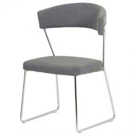 Sconto Jídelní židle LAURA šedá