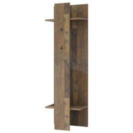 Sconto Předsíňový panel CLIF wood vintage