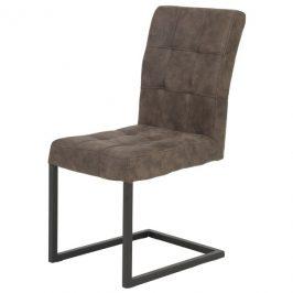 Sconto Židle DONNA S hnědá