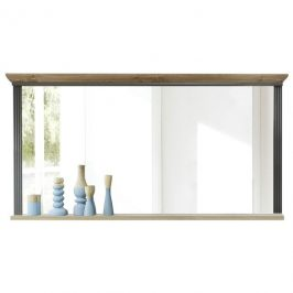 Sconto Zrcadlo JASMIN grafit/dub artisan