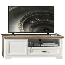 Sconto TV stolek JASMIN pínie světlá/dub artisan Stolky pod TV