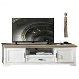 Sconto TV stolek JASMIN pínie světlá/dub artisan