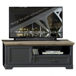 Sconto TV stolek JASMIN grafit/dub artisan