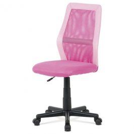 Sconto Kancelářská židle GLORY růžová