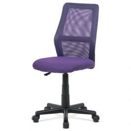 Sconto Kancelářská židle GLORY fialová