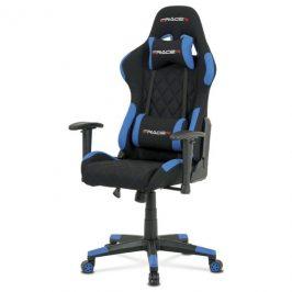 Sconto Kancelářská židle NIKI černá/modrá