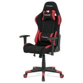 Sconto Kancelářská židle NIKI černá/červená