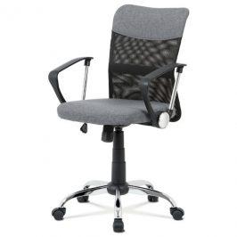Sconto Kancelářská židle PEDRO šedá