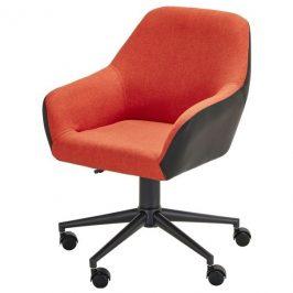 Sconto Kancelářská židle ANCE červená/černá