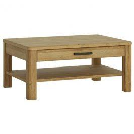 Sconto Konferenční stolek CORTINA dub tmavý grande