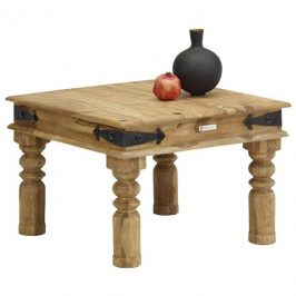 Sconto Konferenční stolek BOMBAY přírodní palisandr/černá