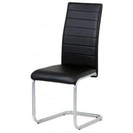Sconto Jídelní židle LILY černá